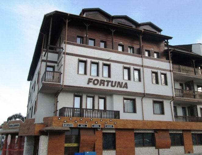 Fortuna apartment, one of the closest to the Gondola and ski centre.