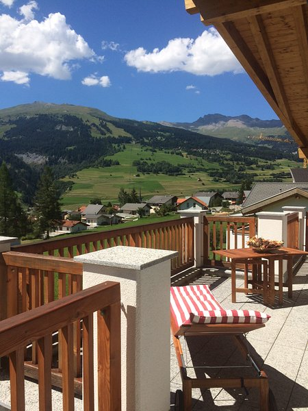 Savognin, Switzerland:  Where Dreams Come True, vacation rental in Alvaneu Bad