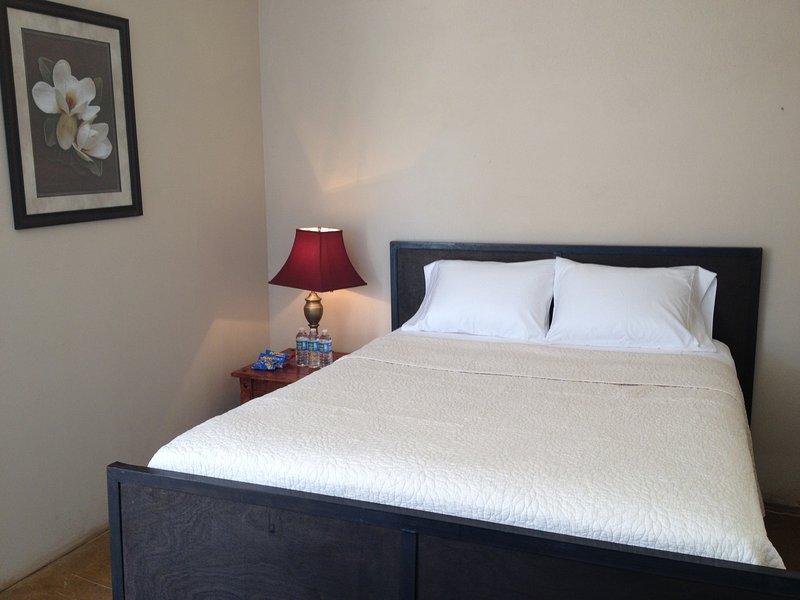 Queen-side bed