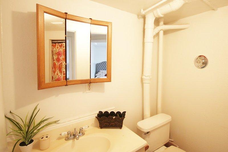 Salle de bains avec douche (en bas)