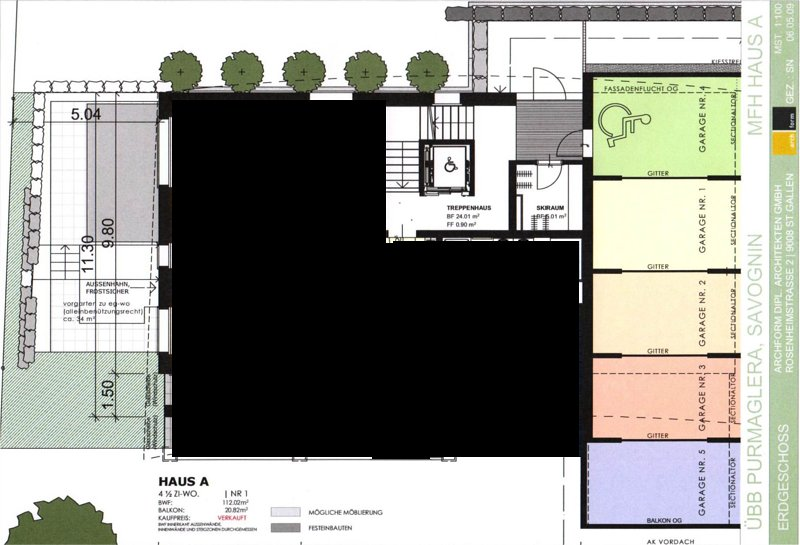 garage plan with direct access to the building