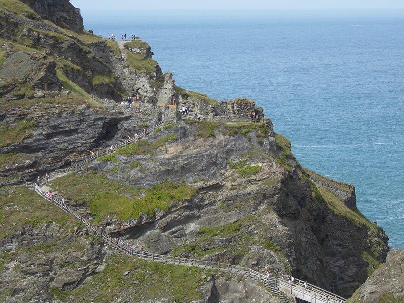 Remains of King Arthur's castle