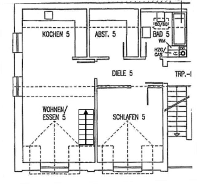 My CORNER floor plan of the lower floor