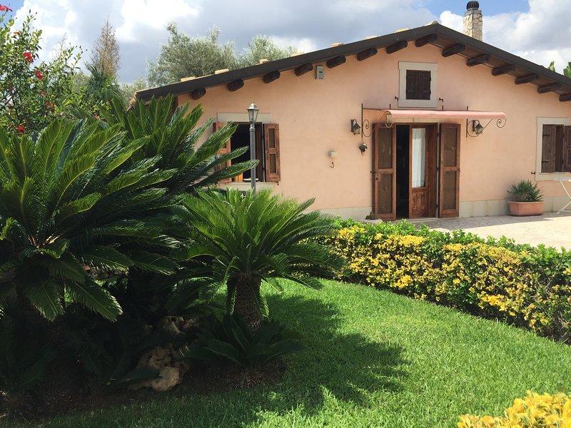 Villa 'Alba del sole', casa vacanza a Capo Negro