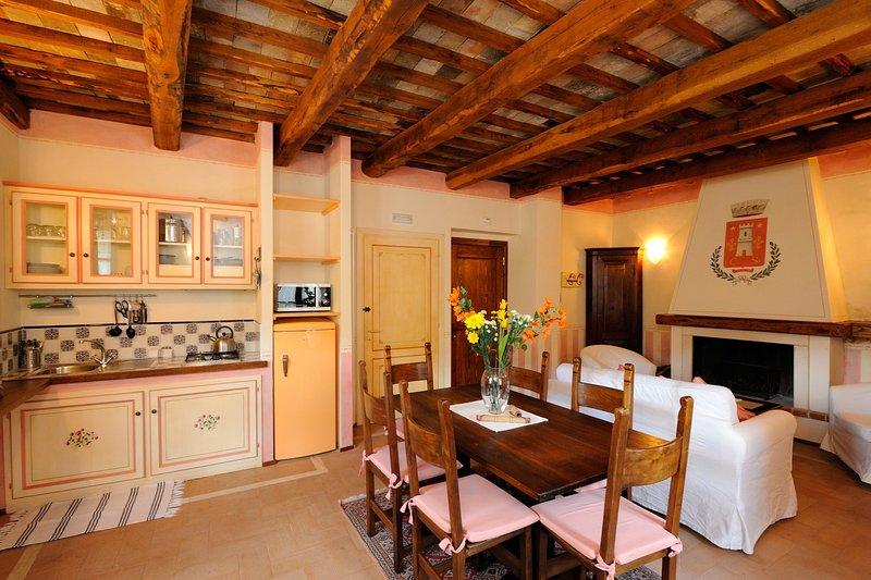 Casa de Firminia, Ferienwohnung in Cascia