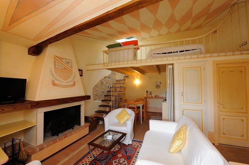 Casa de Trucchia, Ferienwohnung in Cascia