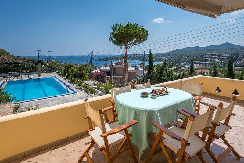 Villa Adamite (3 bedrooms), vacation rental in Lavrio