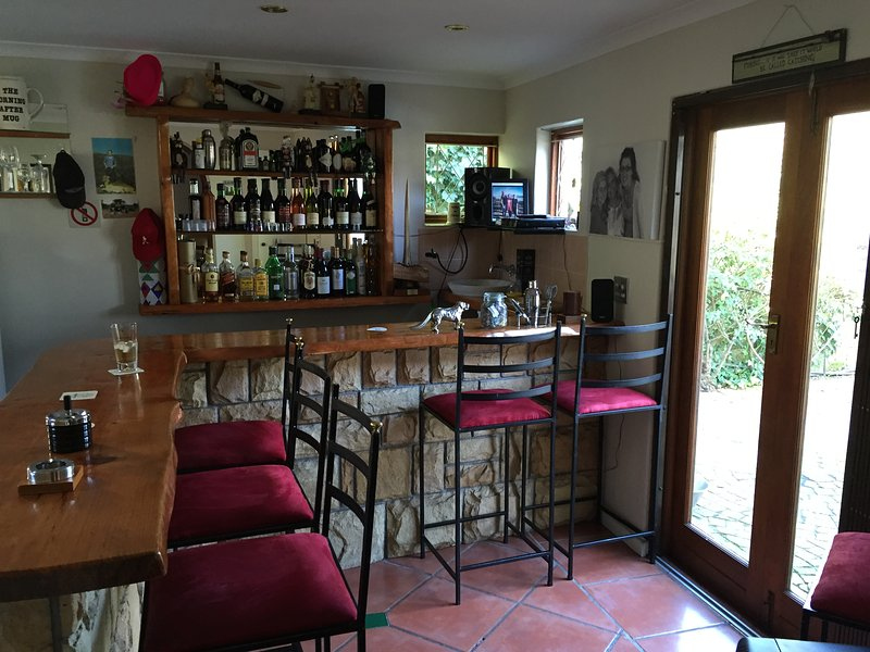 Our popular 19th hole. The honesty bar available to our guests only!