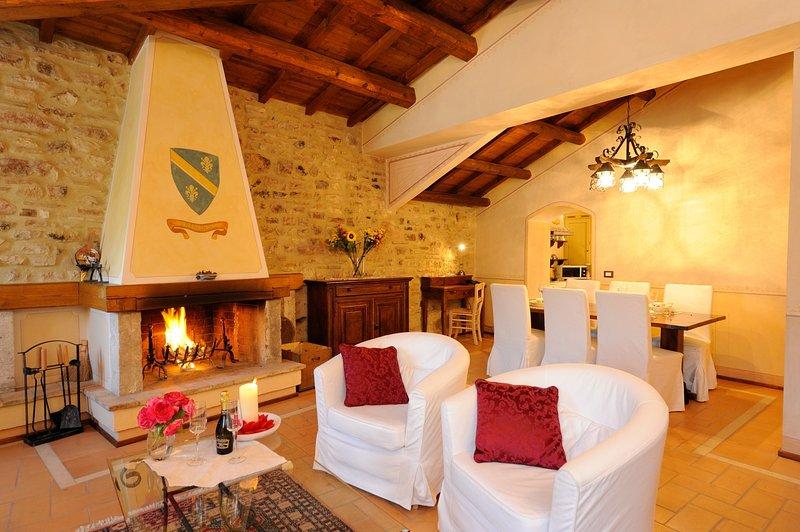 Casa de Franculini, Ferienwohnung in Cascia