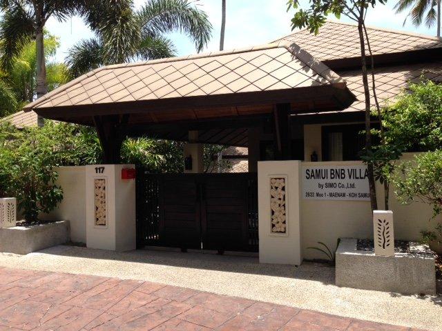 The entrance of Samui BnB Villa - bed&breakfast