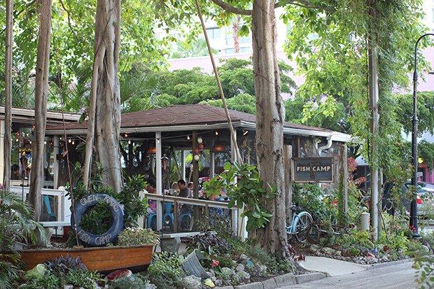 restaurante Fish Camp de Owen