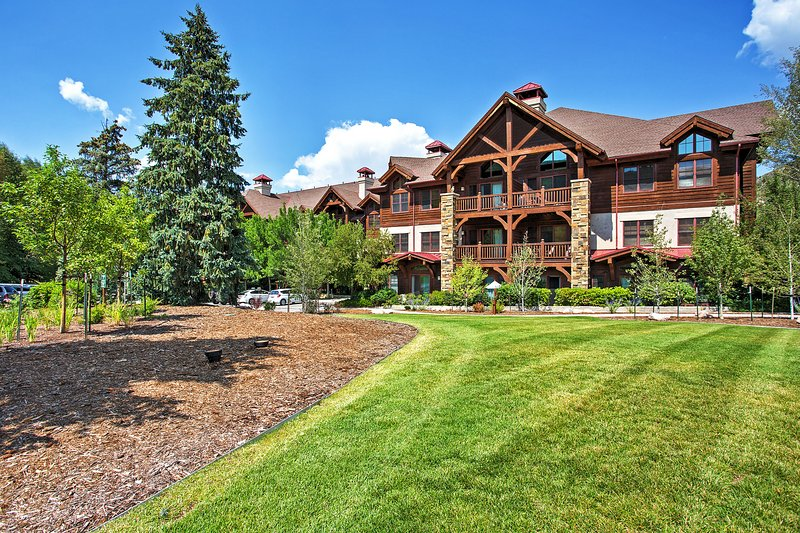 Your mountainside adventure begins at this 2-bedroom, 2-bath vacation rental condo in Avon!