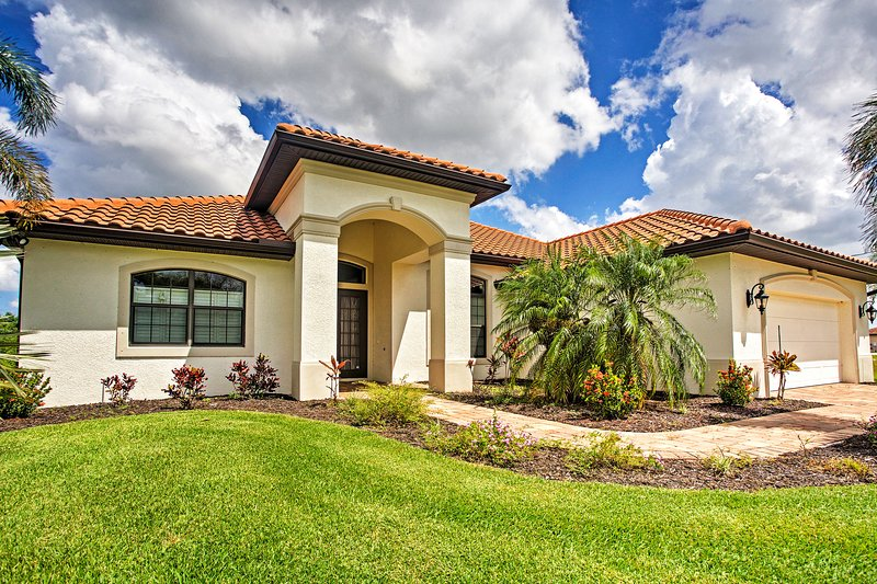 Have a fantastic time at this Cape Coral vacation rental home!