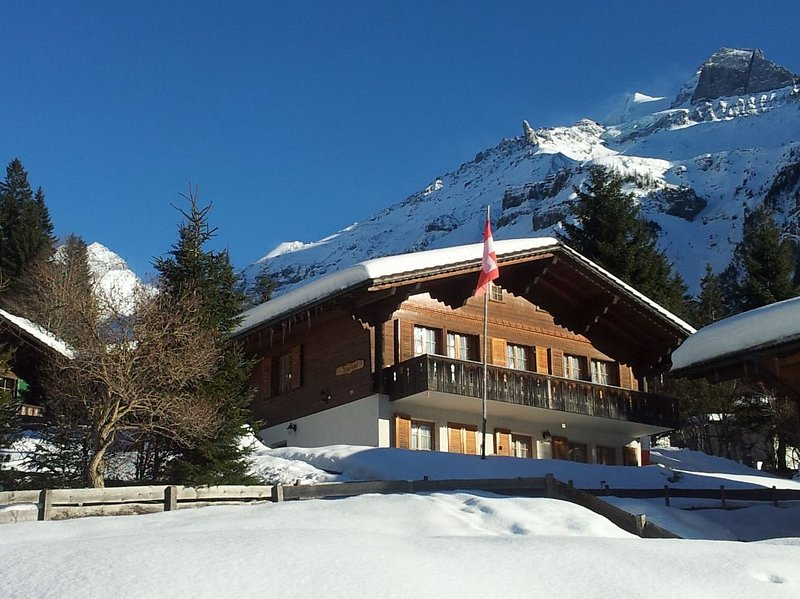 Ferienwohnung Chalet Bergblume Kandersteg, vacation rental in Achsete