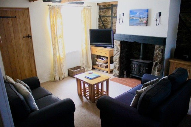 The cosy sitting room