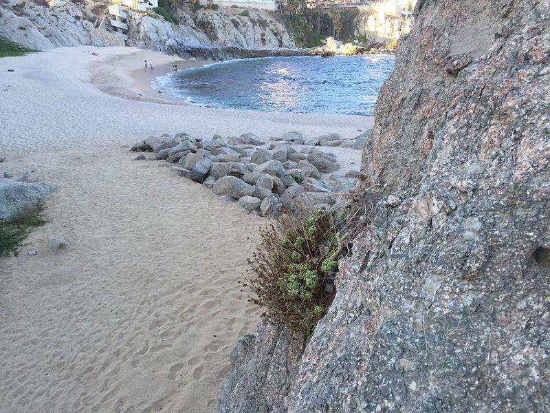 Cabo bello private beach.