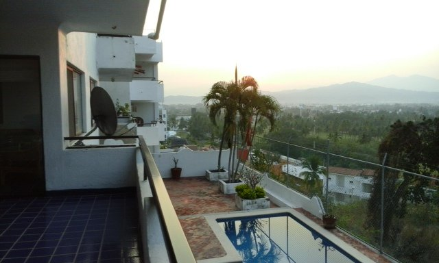 Condo View to The Bahia Manzanillo