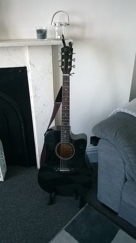 Fender guitar, please feel free to play