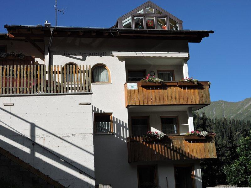 Haus Bergkristall Samnaun Wohnung, location de vacances à Samnaun