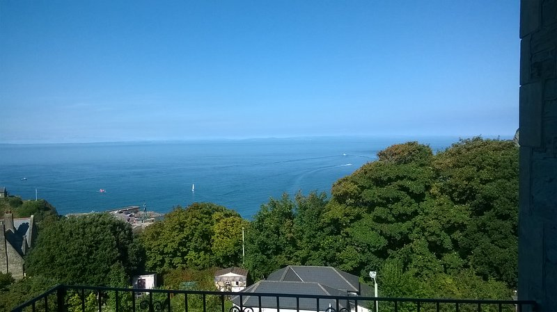 blue skies and sea - also available in grey, but just as good