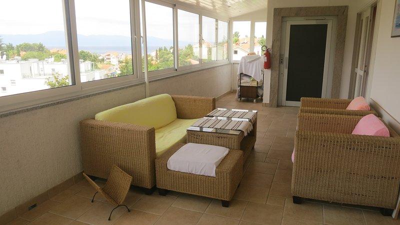 Closed terrace