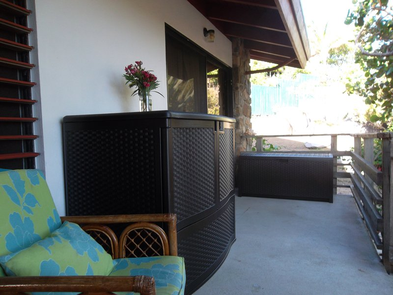 Outside Space on 75' Patio