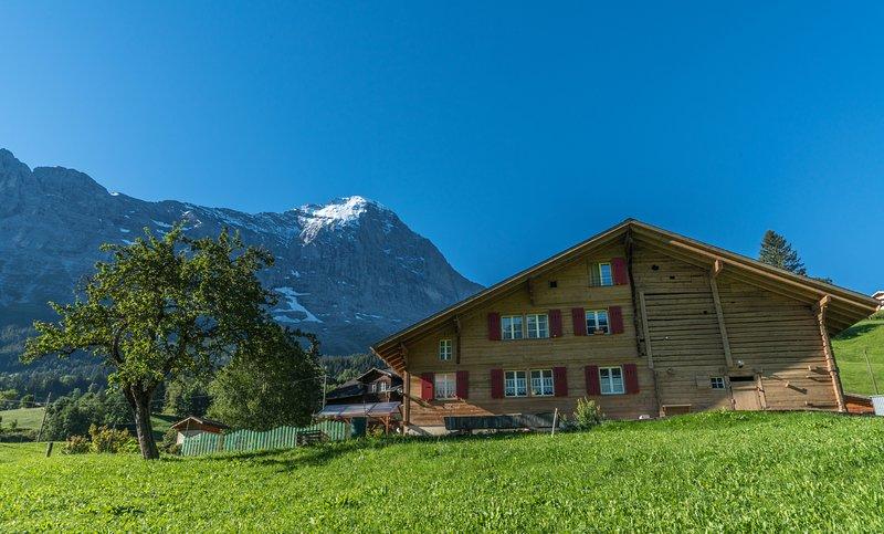 Chalet mitten in der Natur mit viel Service, liebevoll eingerichtet, sehr ruhig!, holiday rental in Bernese Oberland