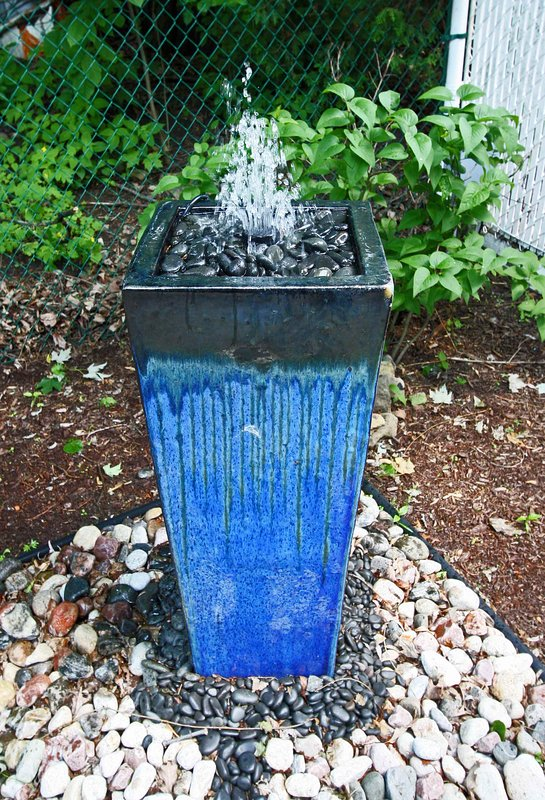 Garden - Blue Fountain