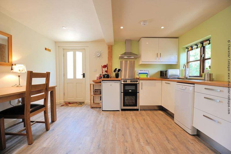 The lovely, spacious kitchen