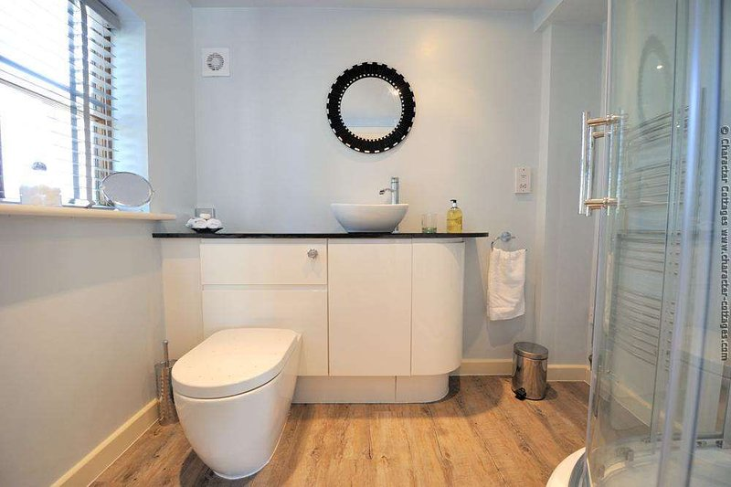 Very smart, ultra modern bathroom and shower