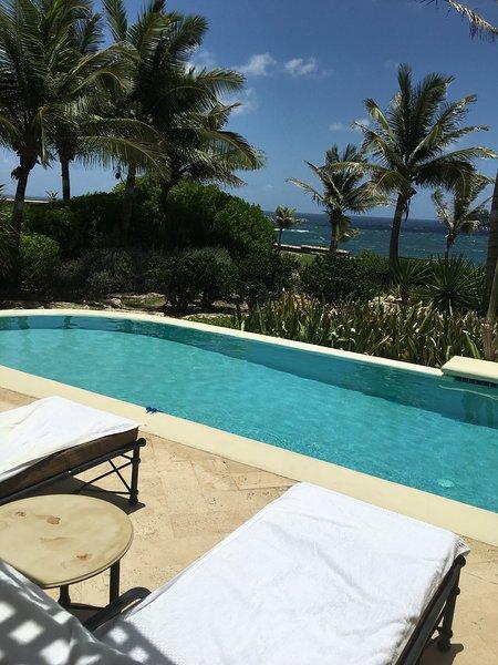 Private 28ft Pool overlooking Ocean