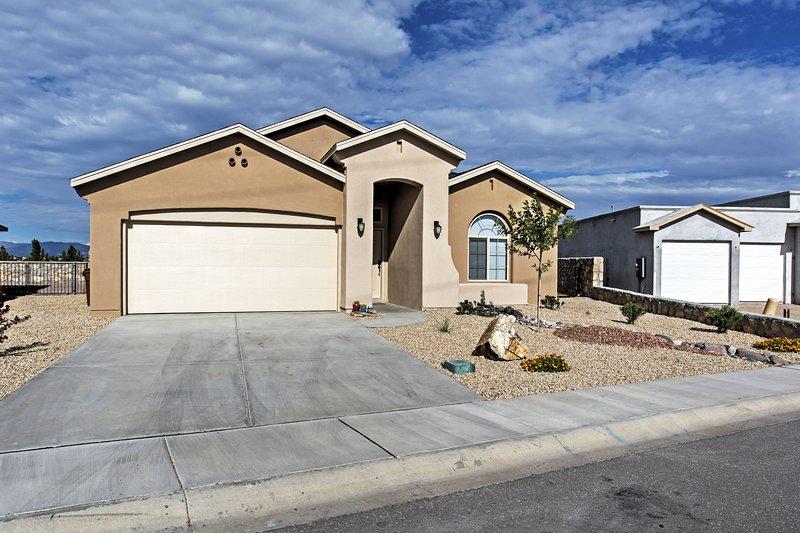 Venez voir ce que le Nouveau-Mexique peut vous offrir cette maison de location de vacances à Las Cruces!