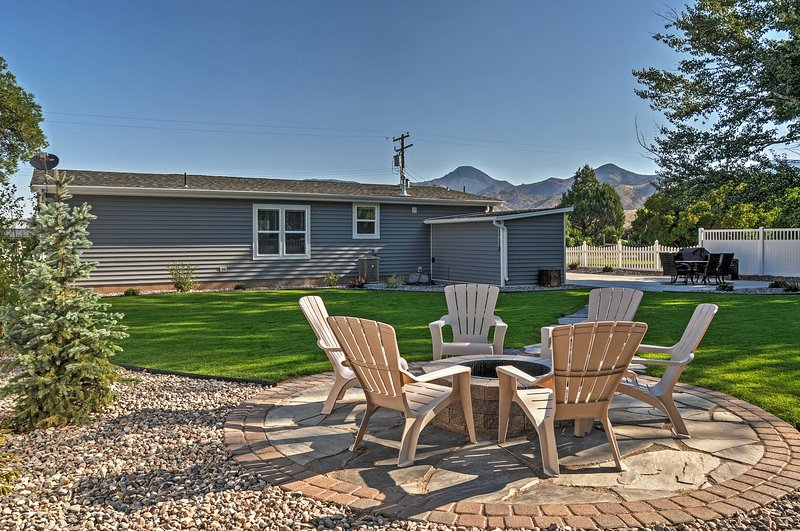 This charming home is perfect for up to 8 guests.