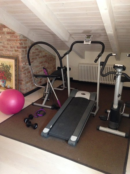 The small but functional gym