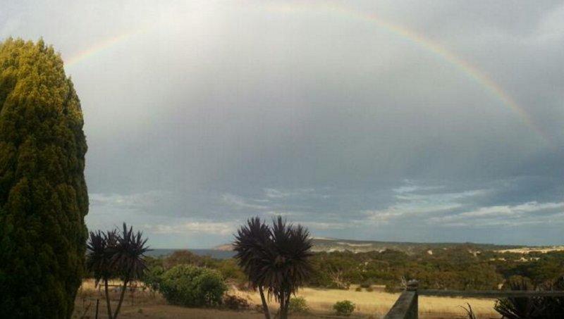 Rainbow over Emu Bay