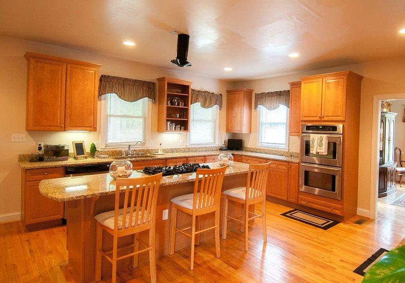 Een deel van de keuken