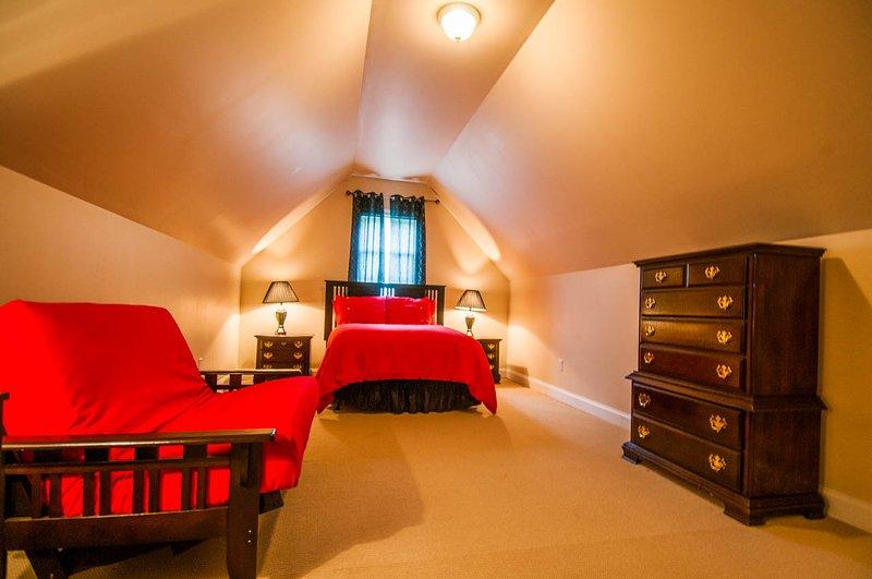 Kalm Nest: Room 5 een tweepersoonsbed en een Twin bed