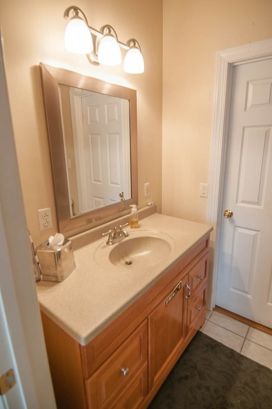 Complete badkamer op de tweede verdieping