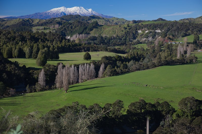 within easy reach of the adventures of the Tongariro National Park