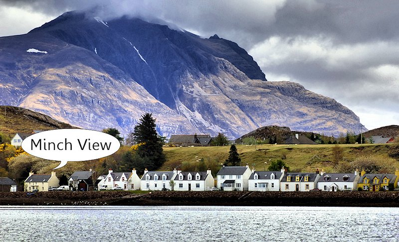 Minch View, Shieldaig.  Sea Views, 4 star, holiday rental in Ross and Cromarty