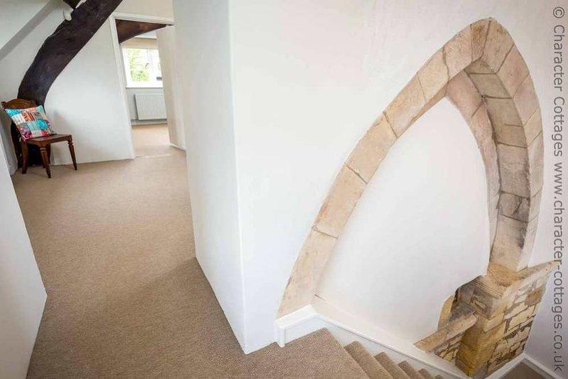 La casa combina el estilo contemporáneo con sus características tradicionales de carácter