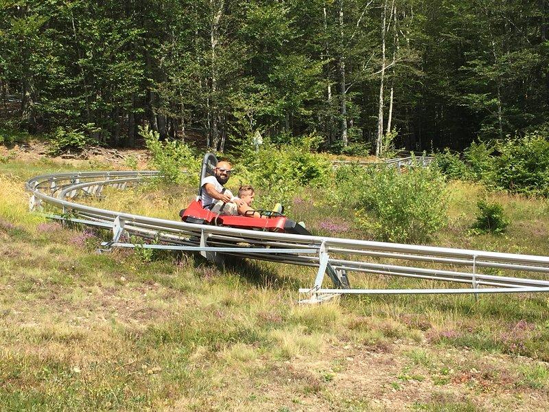 bobsled track at 2 Doganaccia