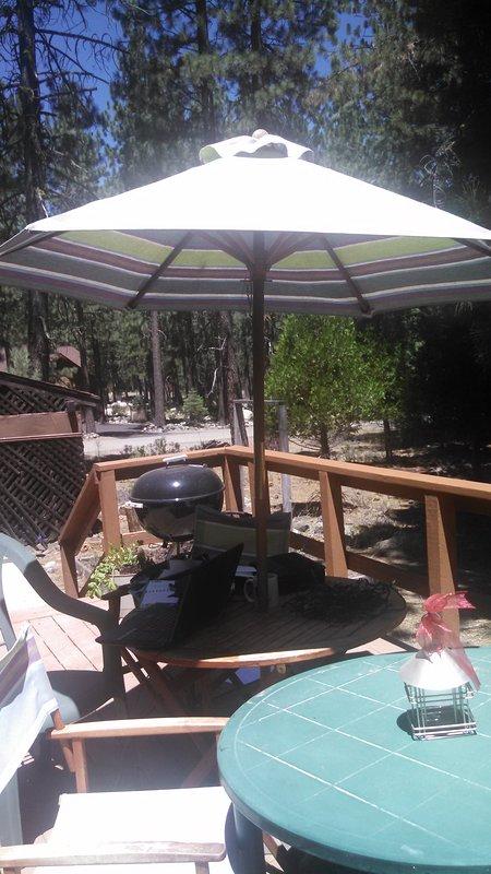 Cute Deck & grills