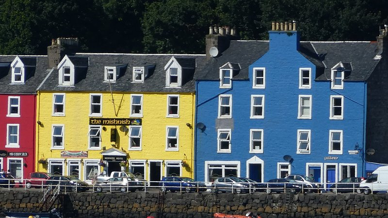 Waterfront Snug, Tobermory, holiday rental in Tobermory