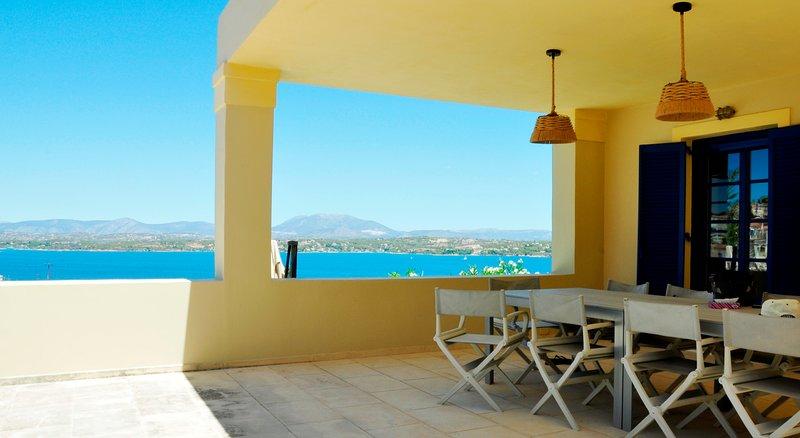 Villa Strophyli - terrace