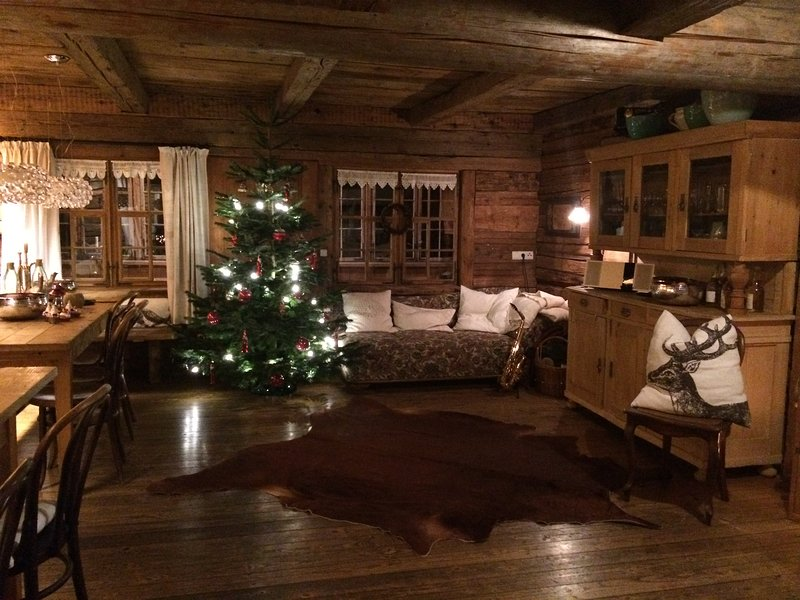 Winter time in the cabin