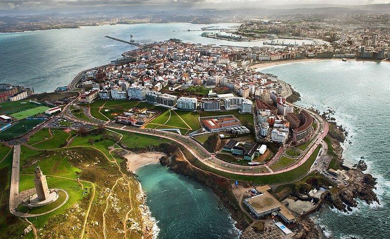 A Coruña ciudad