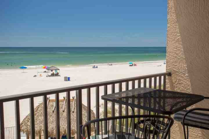 Kick Back and View the Beach and Gulf from Private Balcony