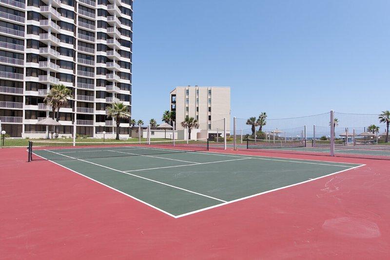 Einer der 4 Tennisplätze