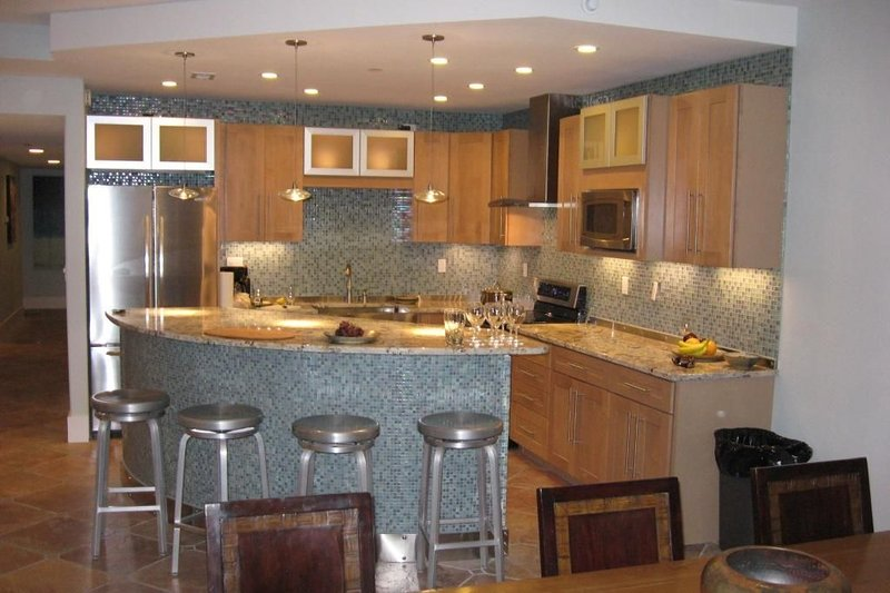 Newly Renovated Kitchen with Island